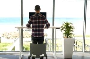 benefits of standing desks photo
